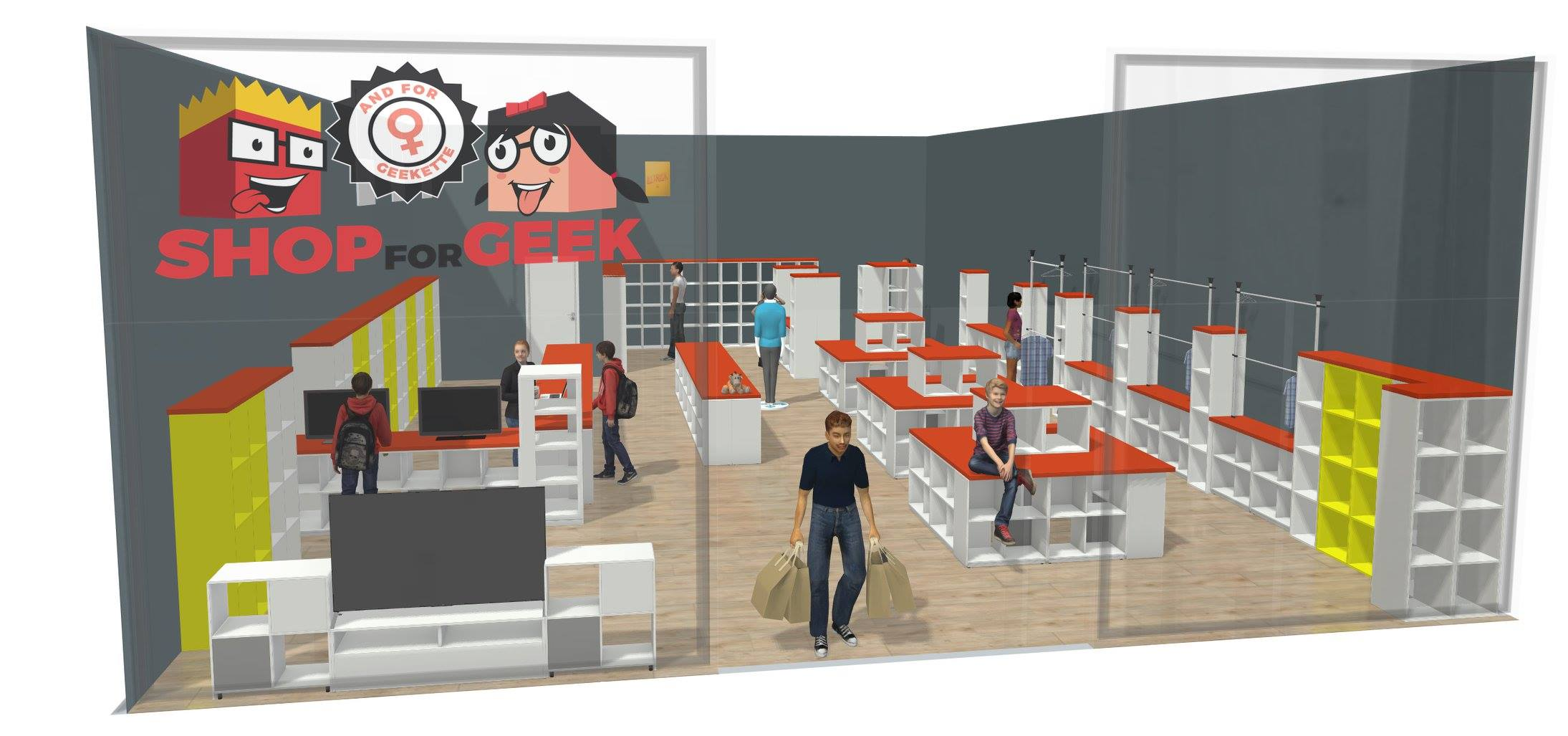 New! Pop-up Shop for Geek