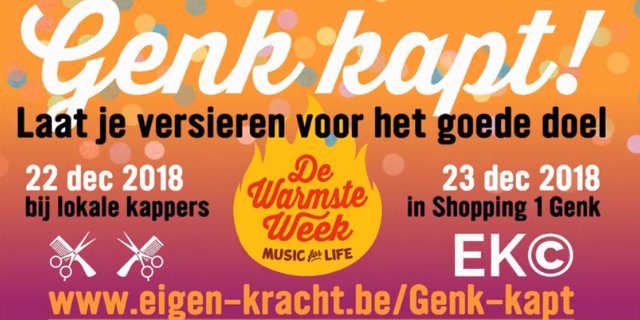 Genk Kapt voor Music for Life